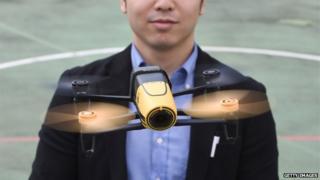Tokyo drone