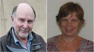 Graham and Jane McCartney
