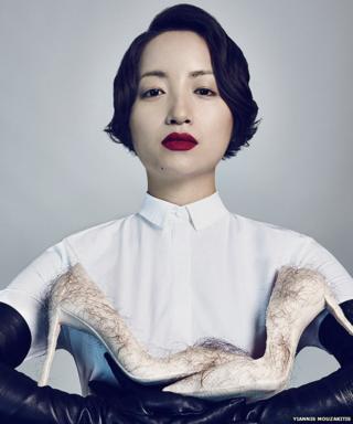 Zhu Tian with Babe