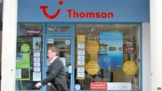 A Thomson store
