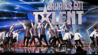 Contestants on ITV show Britain's Got Talent