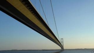 Humber Bridge in Hull