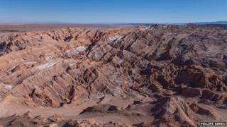 View of the Atacama desert