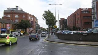 One of the office buildings is on Belfast's Bruce Street