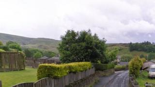 Old Lane, Shawforth