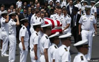 Funeral of Midshipman Justin Zemser, 15 May 2015
