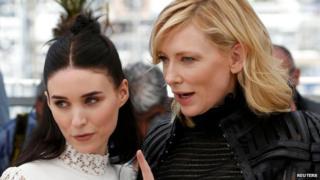 Rooney Mara and Cate Blanchett