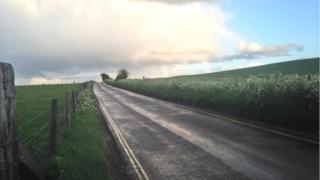 B4003 near Avebury, Wiltshire