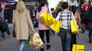 Oxfrod Street Shoppers