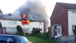Fire at flat in St Dials area of Cwmbran