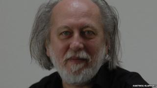 Hungarian writer Laszlo Krasznahorkai
