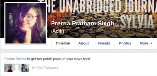 When she got a lewd message on Facebook, Prerna Pratham Singh decided to name and shame the person it allegedly came from