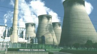 Ferrybridge C power station