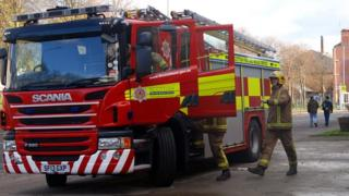 The single national fire service was created two years ago