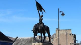 Hornshole monument