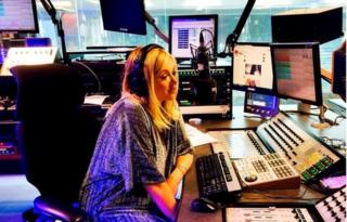 Fearne Cotton on her last day