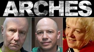 Irvine Welsh, Stuart Braithwaite of Mogwai and Scots Makar Liz Lochhead