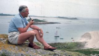 Harold Wilson on the Isles of Scilly
