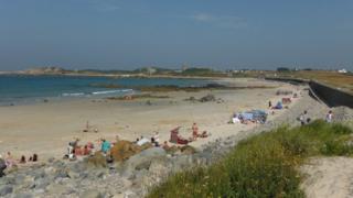L'Ancresse beach