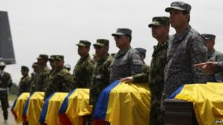 Farc rebels killed in new Colombian army offensive