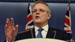 Australian Social Security Minister Scott Morrison