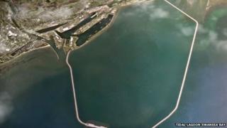Tidal lagoon Swansea bay