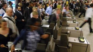 London Underground passengers