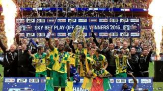 Norwich City win Championship play-off final