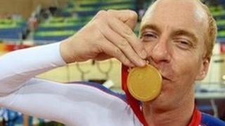 Paralympian Simon Richardson