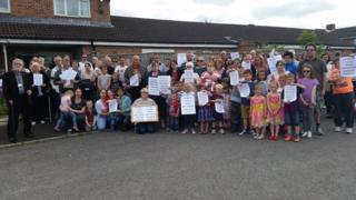Protesters against new drug and alcohol recovery centre