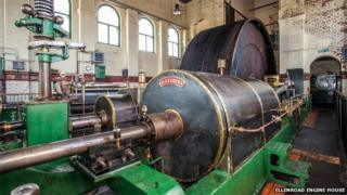Alexandra - one of the steam mill engines