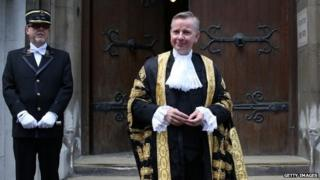 Lord Chancellor Michael Gove