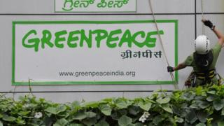 Greenpeace office in Bangalore