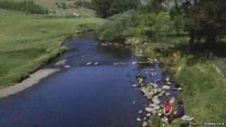 River in the Borders