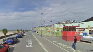 Barmouth promenade