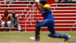 A player for the Sri Lankan women's cricket team