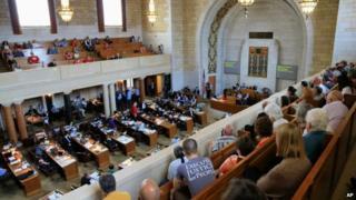 The Nebraska legislature