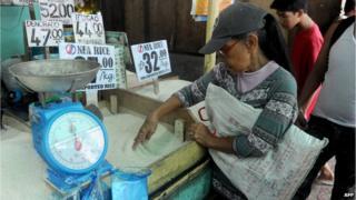 Market in Manila