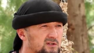 Gulmurod Khalimov, screen grab from Furat video