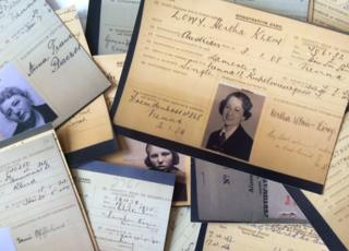World War Two identification cards