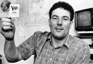 Derek Hatton in 1986