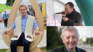 Elis Dafydd, Ed Holden a Gareth F Williams