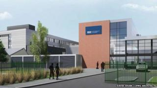 Planned new science centre