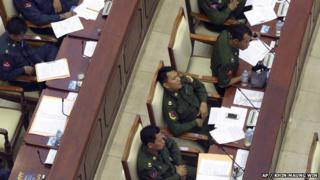 When sleeping lawmakers were captured on film in Myanmar, authorities responded by banning journalists