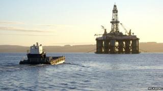 Albatross heading to Glomar Arctic II Semisub in Cromarty Firth