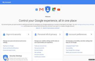 Google My Account