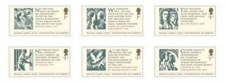Magna Carta stamps