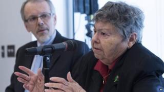 Lise Blais, whose husband Jean-Yves Blais, died from lung cancer