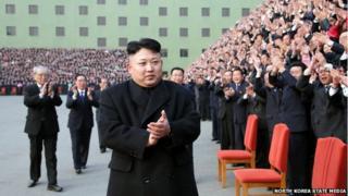 Kim Jong-un applause