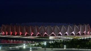 The Crystal Hall, Baku, Azerbaijan